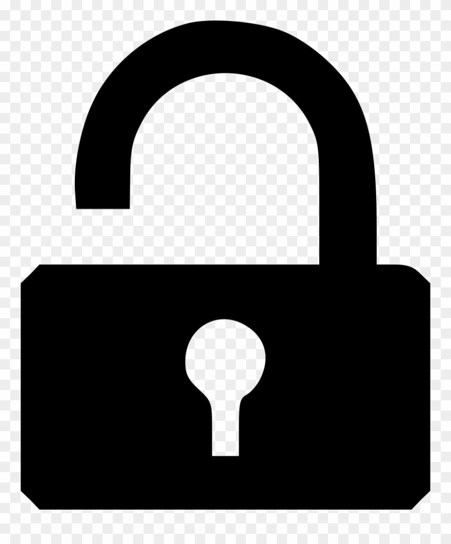 graphic free download Lock clipart. Broken clip art png.