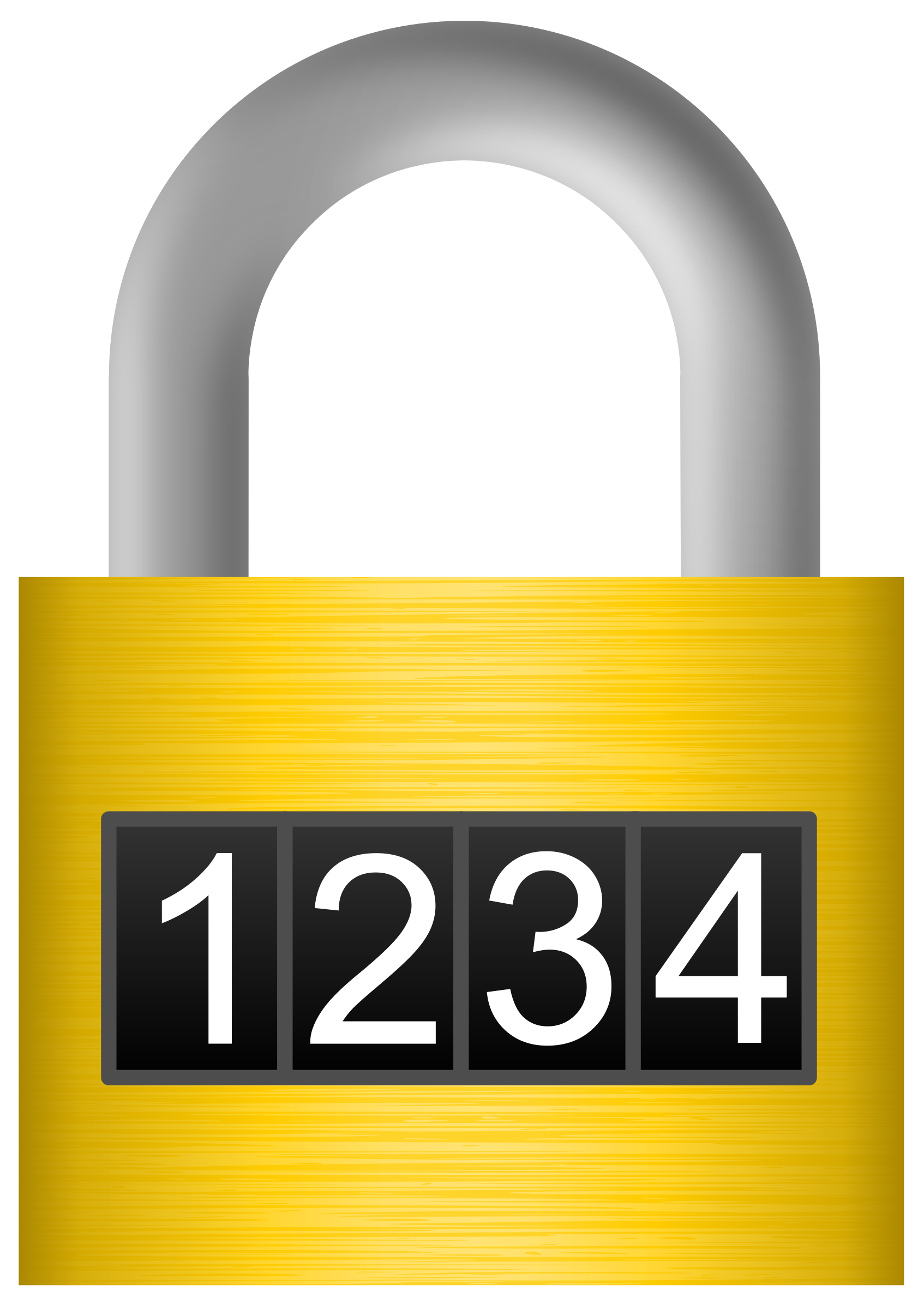 picture free library Combination lock big image. Locker clipart top.