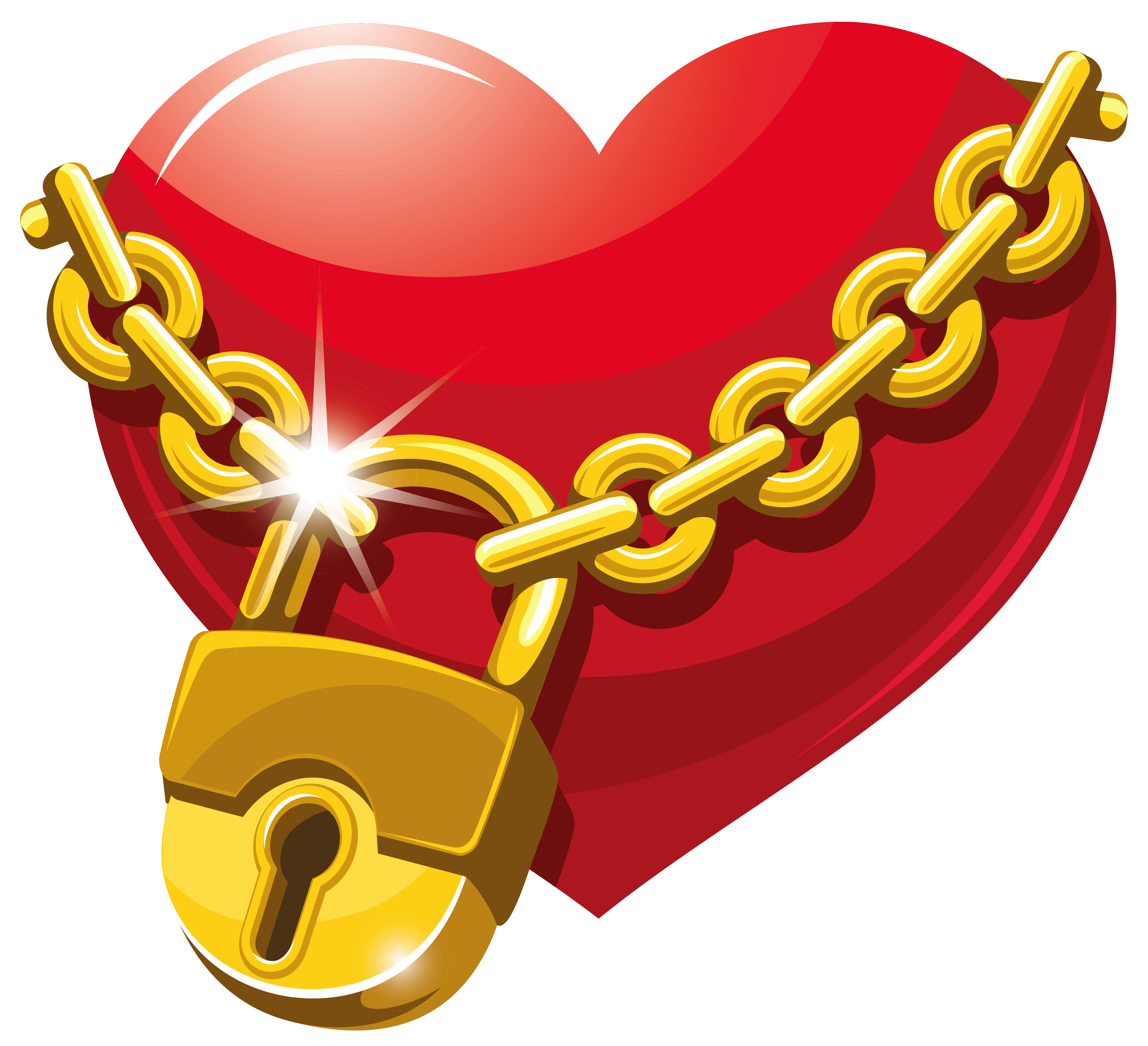 graphic transparent Lock clipart heart. Locked png gallery yopriceville.