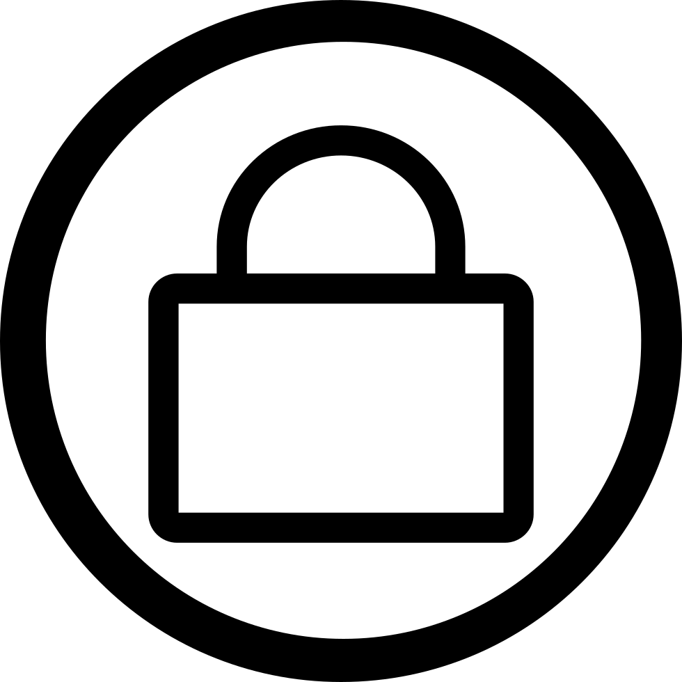 vector transparent stock Admin Lock Svg Png Icon Free Download