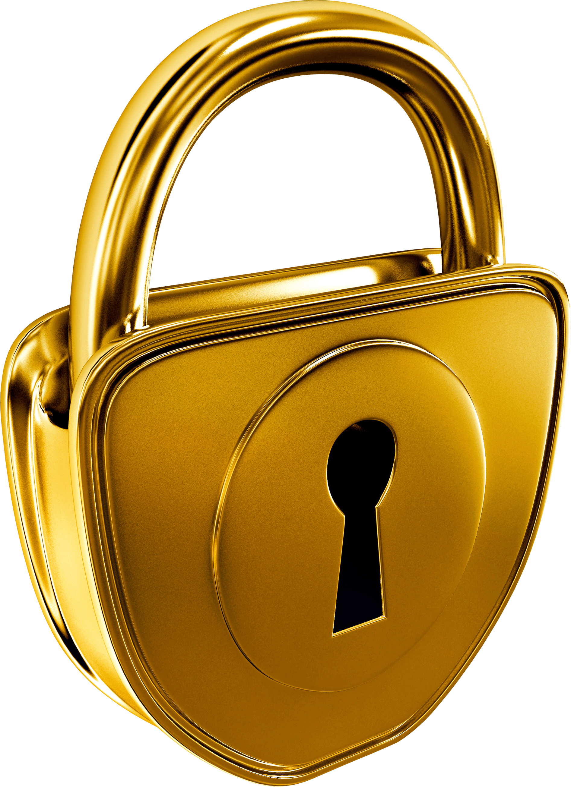 gold keyhole clipart - HD860×1226
