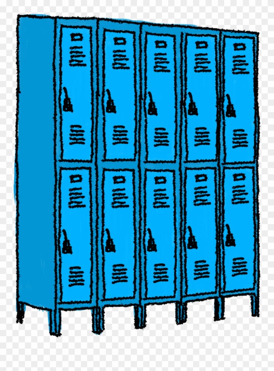 clipart freeuse stock Locker clipart. Open school clip art