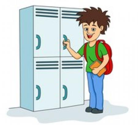 graphic black and white library Locker clipart top. Free download on webstockreview.