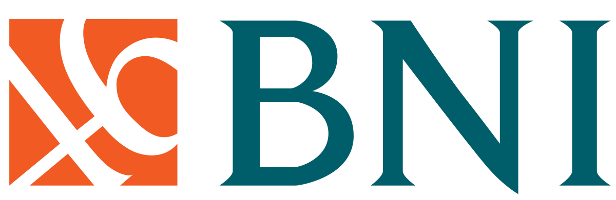 transparent stock Bank Negara Indonesia