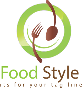 clip library download organic restaurant Logo Vector