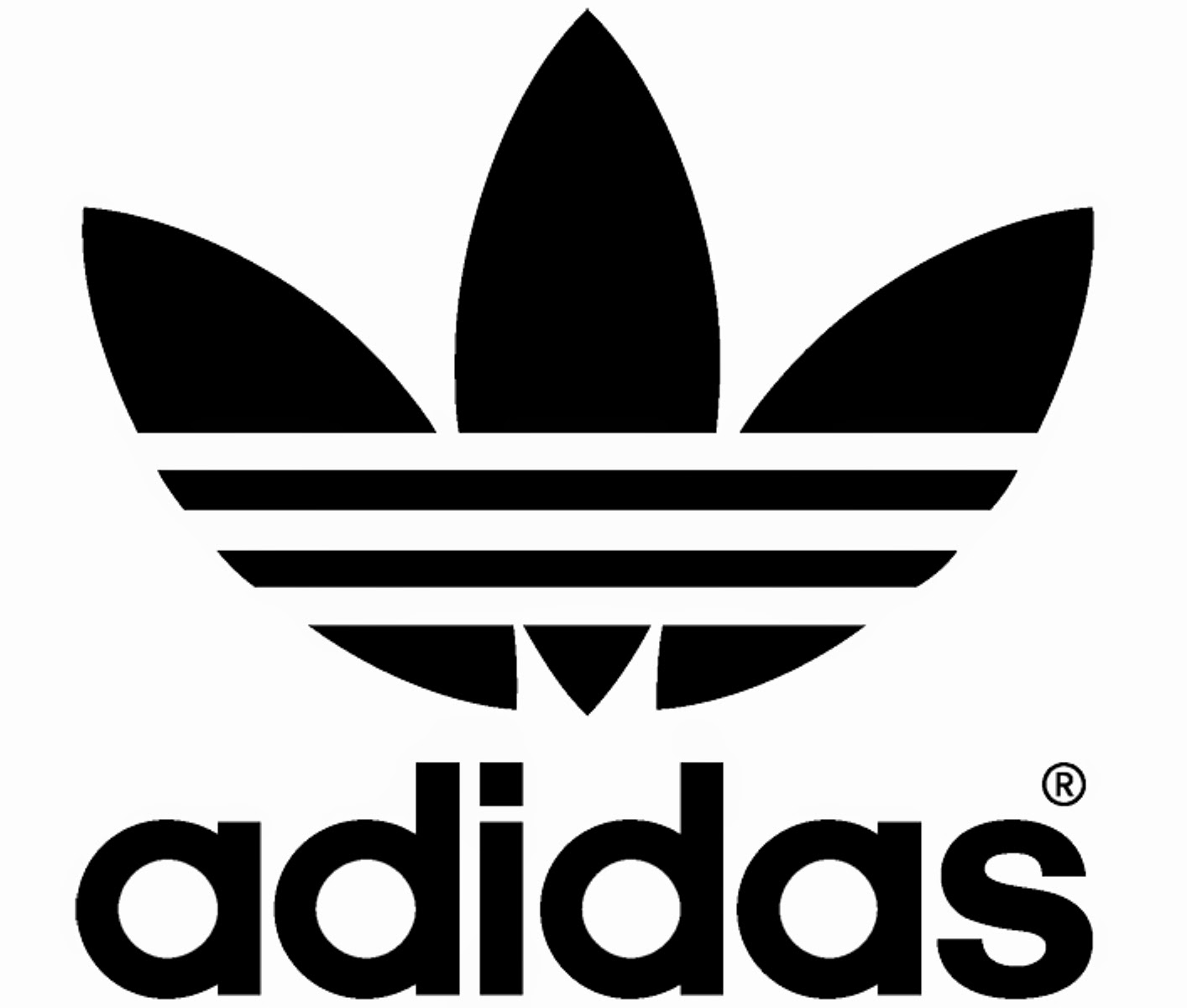 svg freeuse stock Free Adidas Logo Cliparts