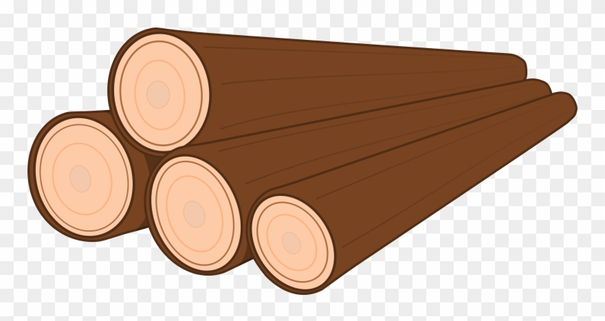 vector freeuse download Logs clipart. Pile of png download.