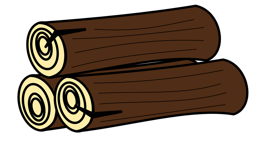banner library library Logs clipart. Log gambar free on.