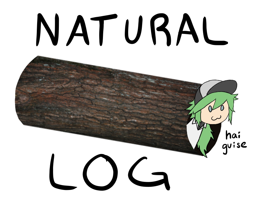 black and white Logs clipart logarithm. Natural log by ceilingsapph.