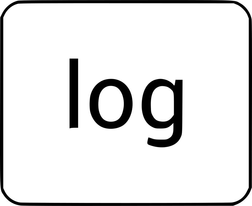 clip download Log math function svg. Logs clipart logarithm.