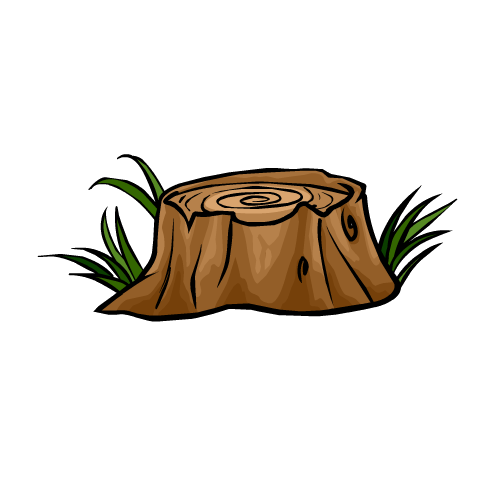 clip black and white Tree Stump Clipart cartoon tree stump clipart best school clipart
