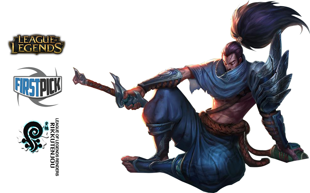 png transparent Yasuo League of Legends Render by ViciousBlue on DeviantArt