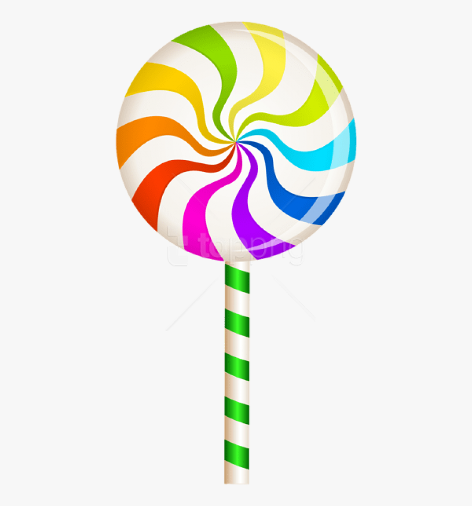 clip art free download Download multlor swirl png. Lollipop clipart.