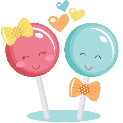 picture freeuse stock Lollipop Couple SVG cut files for scrapbooking lollipop svg cut file