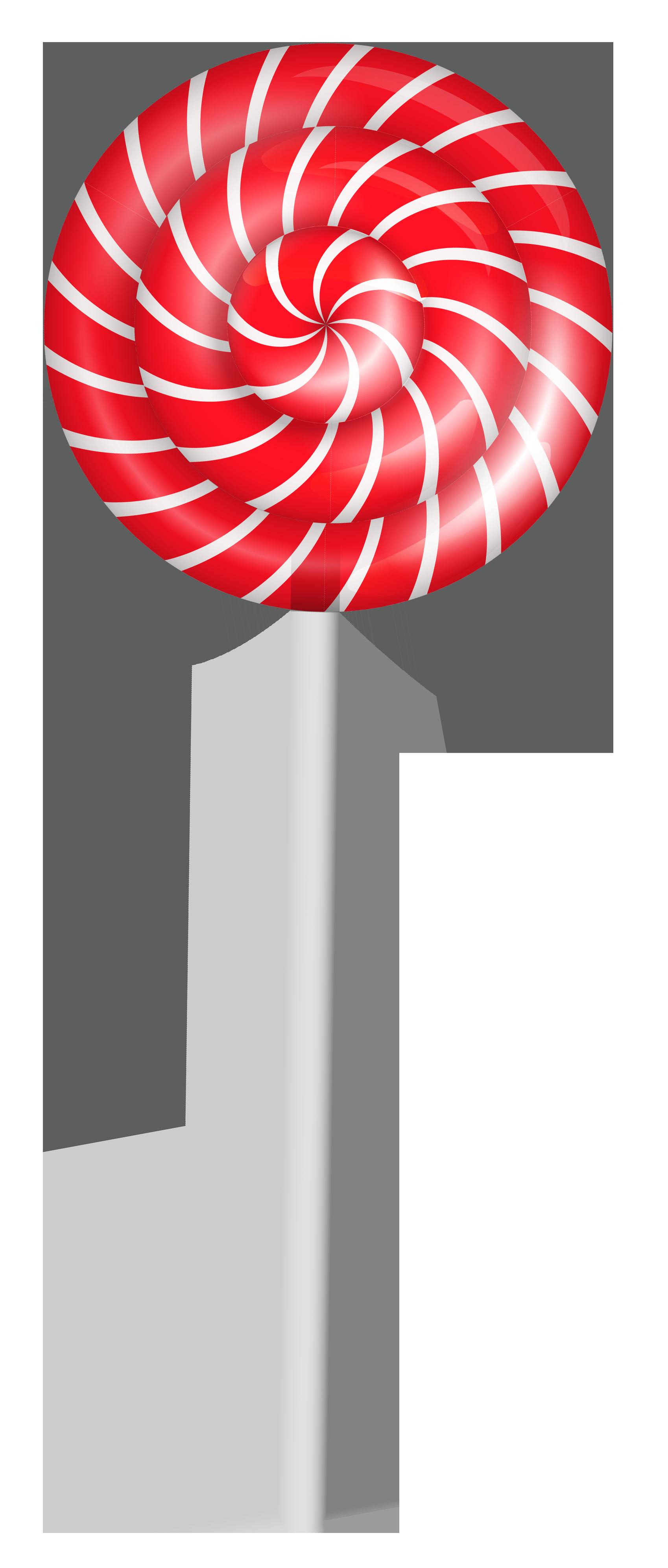 clip transparent Striped Lollipop PNG Clipart Picture