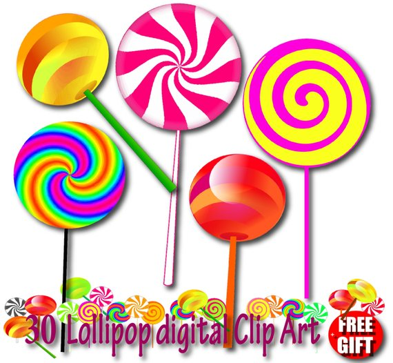 clip freeuse Chocolate invitation candy lollipops. Lollipop clipart cany.