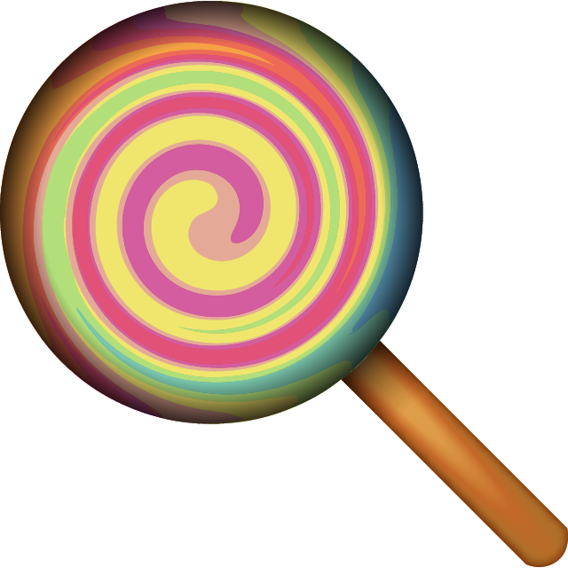 vector free Download Lollipop Candy Emoji