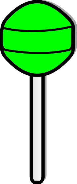 clip free download Green Lollipop Clip Art at Clker