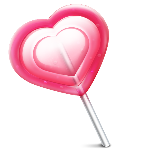 jpg freeuse download Love heart lolly Icon