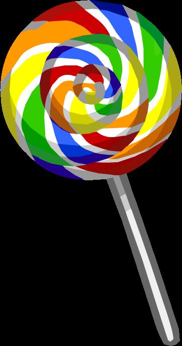clip art transparent download Rainbow Lollipop