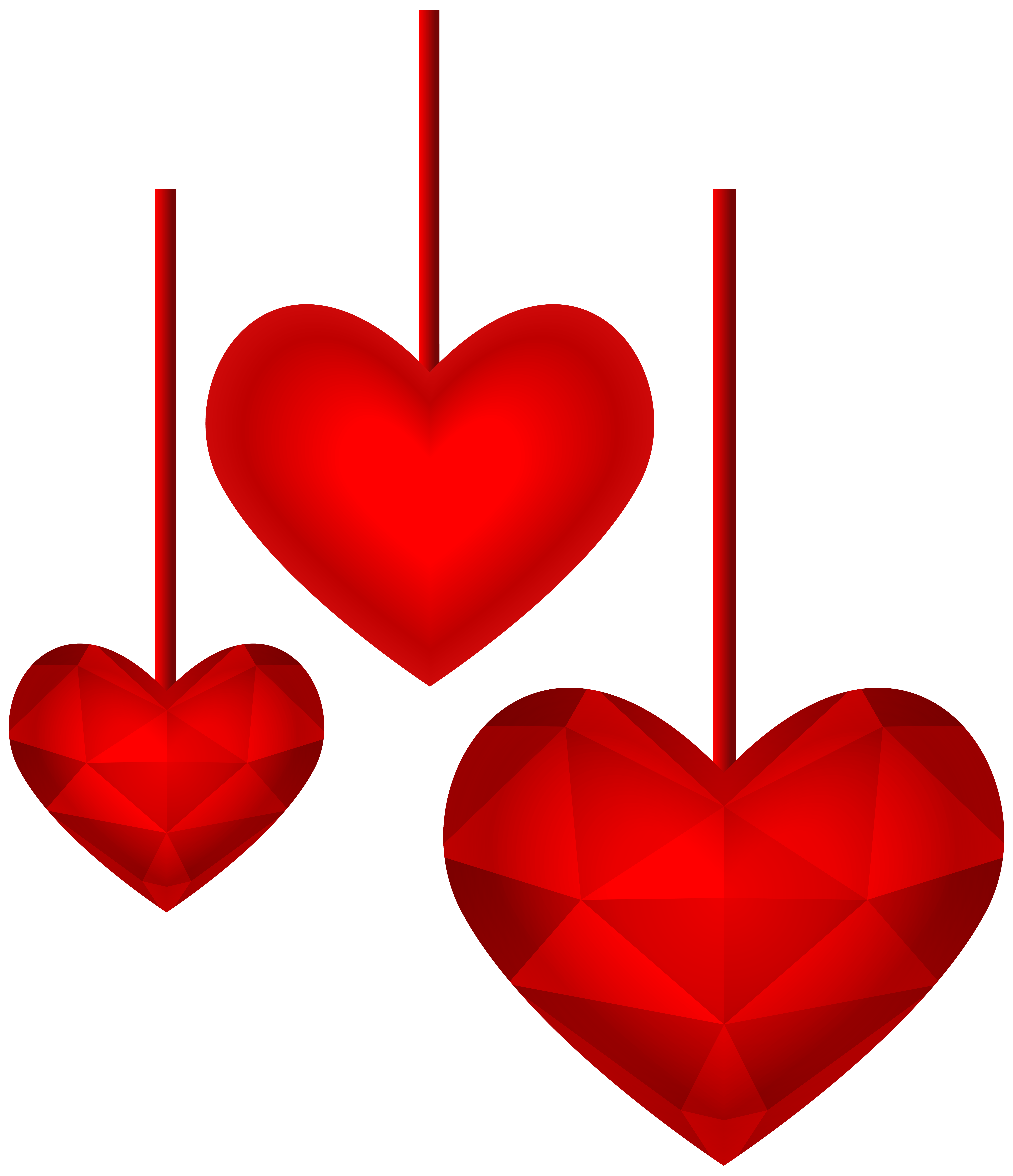 image free stock Lollipop clipart red heart. Hanging hearts transparent png