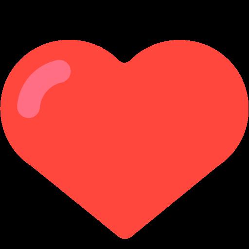 vector royalty free library  emoji mozilla firefox. Lollipop clipart red heart