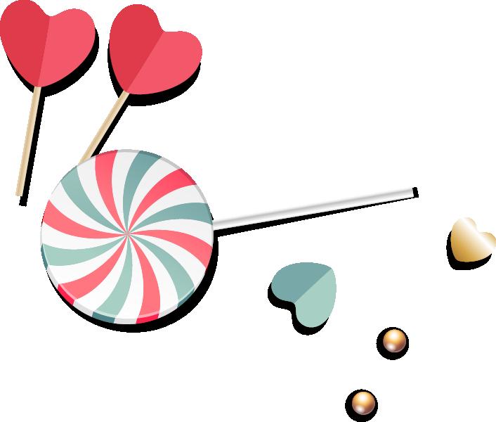 png Lollipop clipart red heart. Baby pacifier clip art