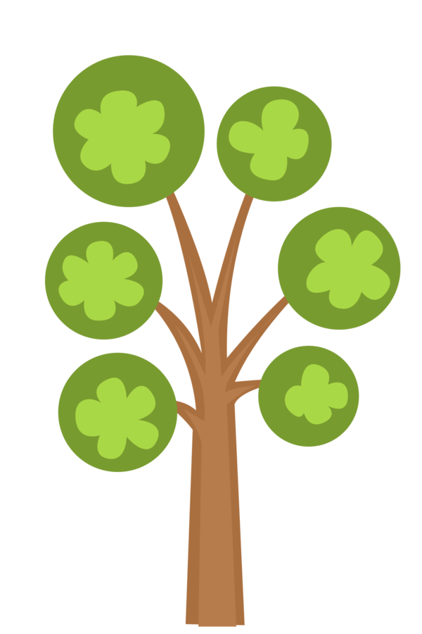 vector transparent stock lollipop clipart tree #80596154