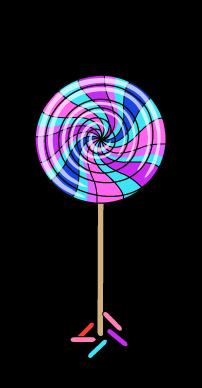 clip transparent library lollipop transparent candyland #99109788