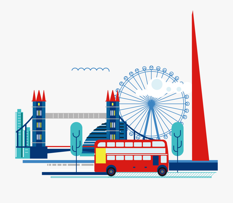 jpg library download London clipart. Ferris wheel eye images