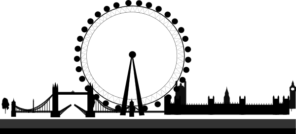 graphic library download Skyline clip art at. London clipart