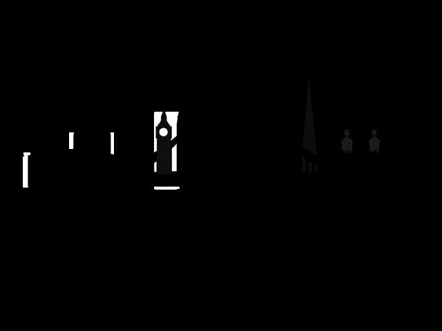 image black and white stock London Skyline