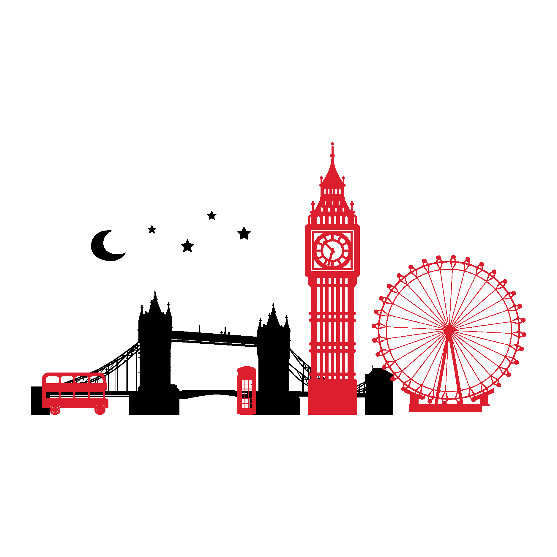 clip free download London clipart. Skyline tattoos google search