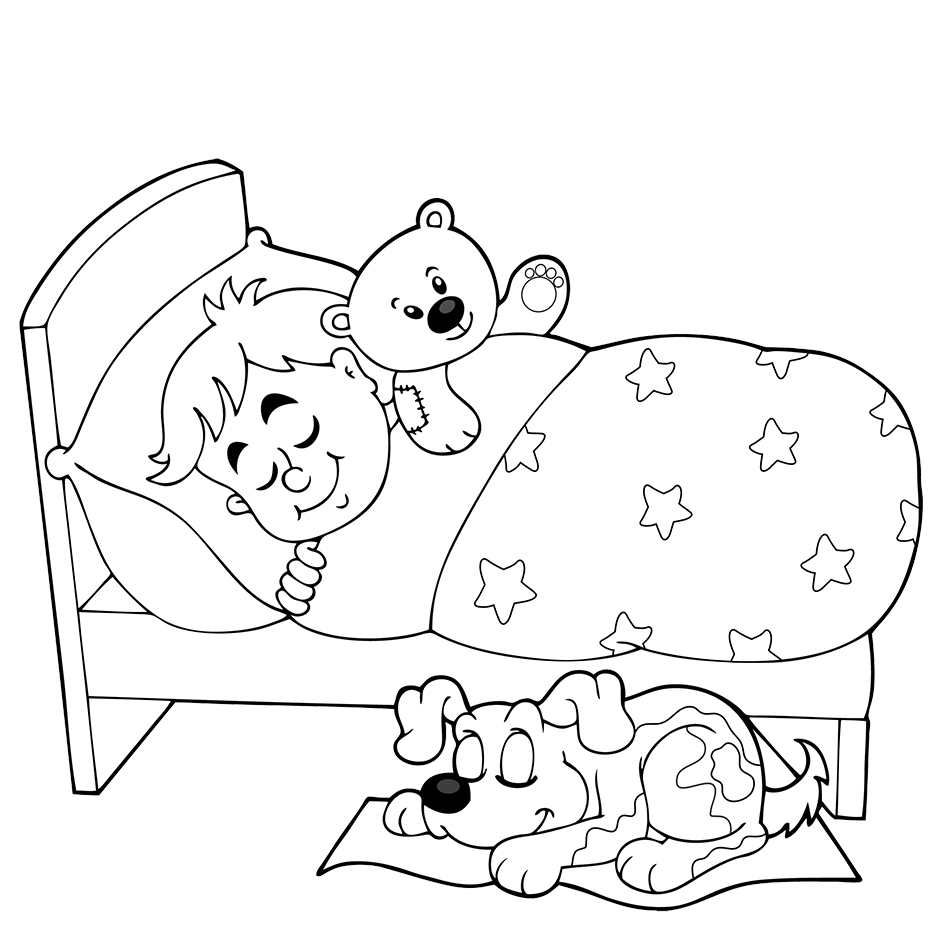 banner black and white library Black and white Sleep Cartoon Clip art