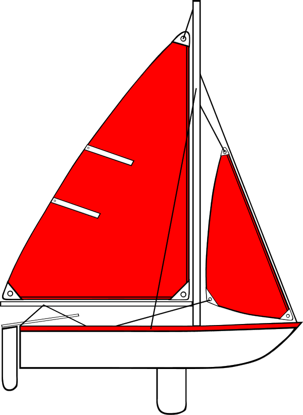 clip art transparent stock Sail boat with long. Yacht clipart logo