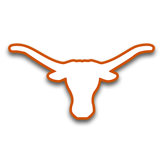 jpg library download Longhorn clipart symbol. Team colors texas lawn.