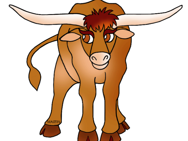 graphic freeuse stock Longhorn clipart texas university. Cattle drawing free on.