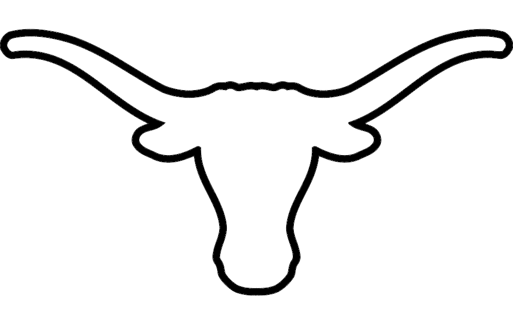 free Longhorn dxf File Free Download