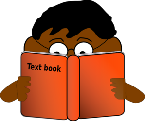 clip art freeuse Boy Reading Book Clip Art at Clker