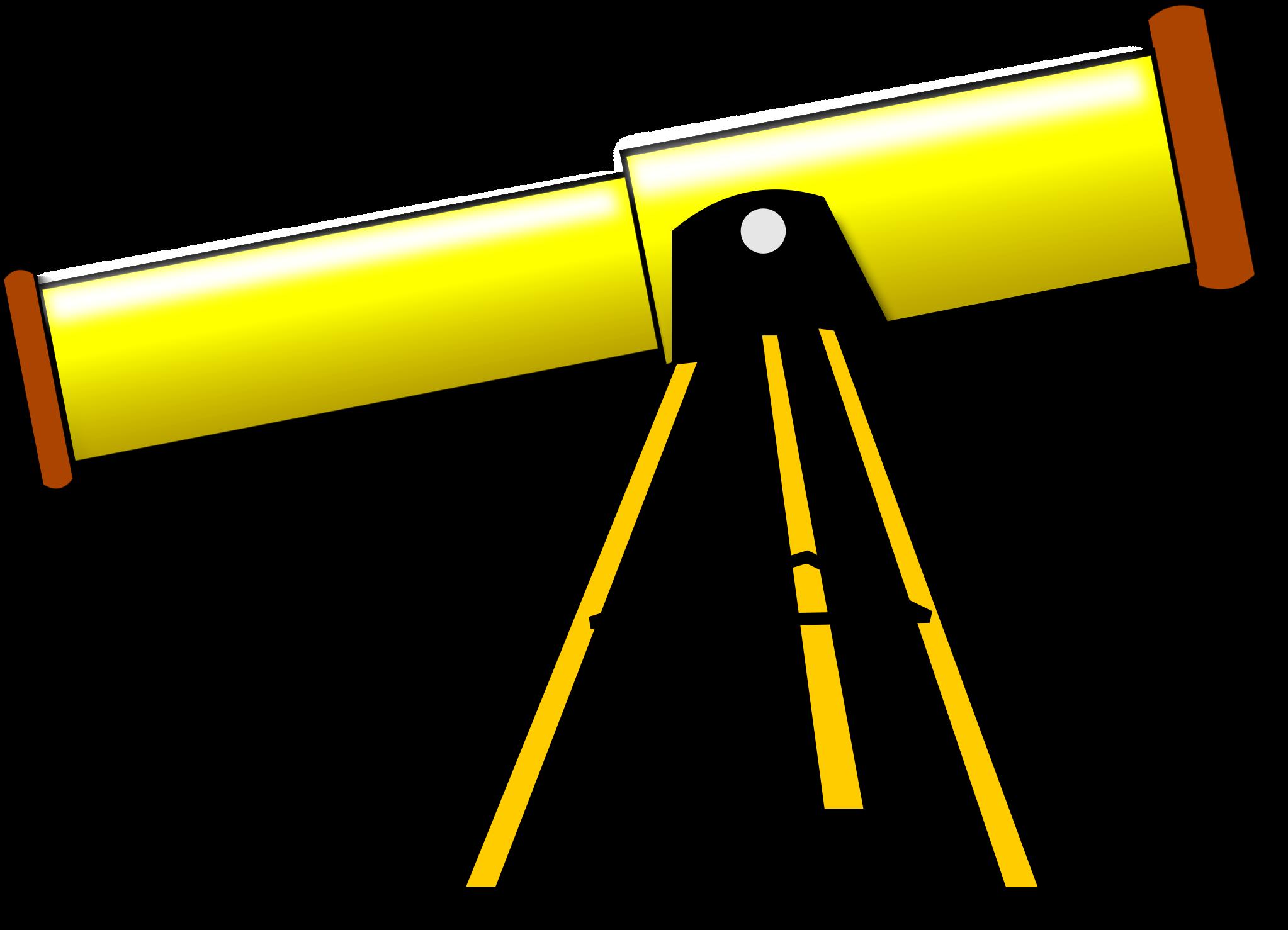 clip art transparent Big image png. Looking clipart telescope.