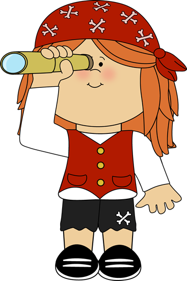 clip art free download Looking clipart telescope. Pirate girl with clip.