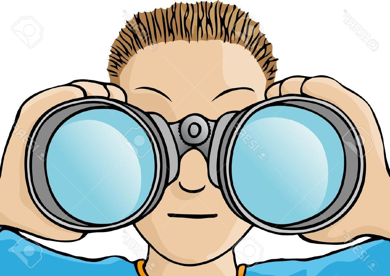 royalty free download Best hd clip art. Looking through binoculars clipart