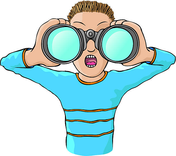 png transparent download Station . Looking through binoculars clipart