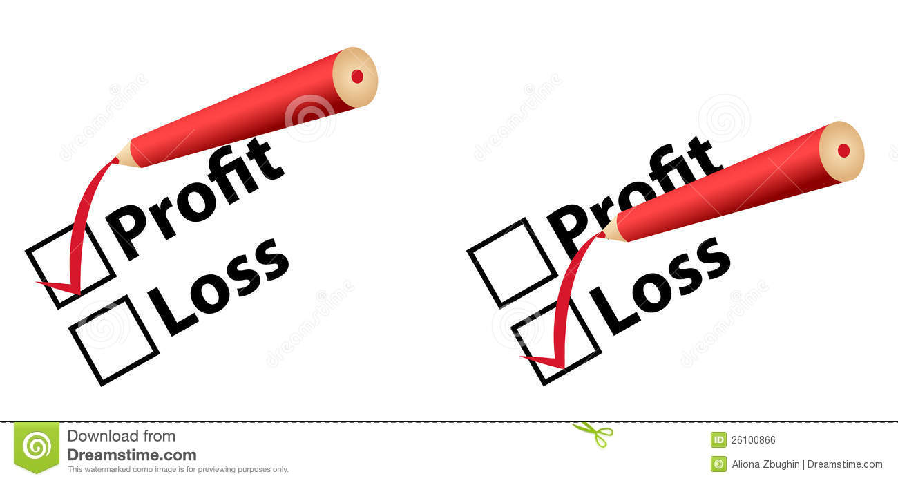 clipart freeuse Profit and station . Loss clipart