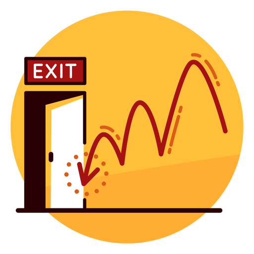 graphic freeuse Financial runaway icon transparent. Loss clipart economic crisis.