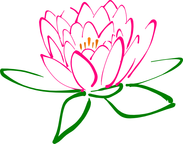 banner royalty free library . Lotus clipart.