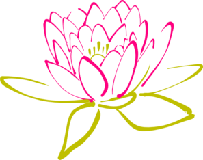 vector royalty free library Lotus clipart abstract. Clip art tattoo pinterest.