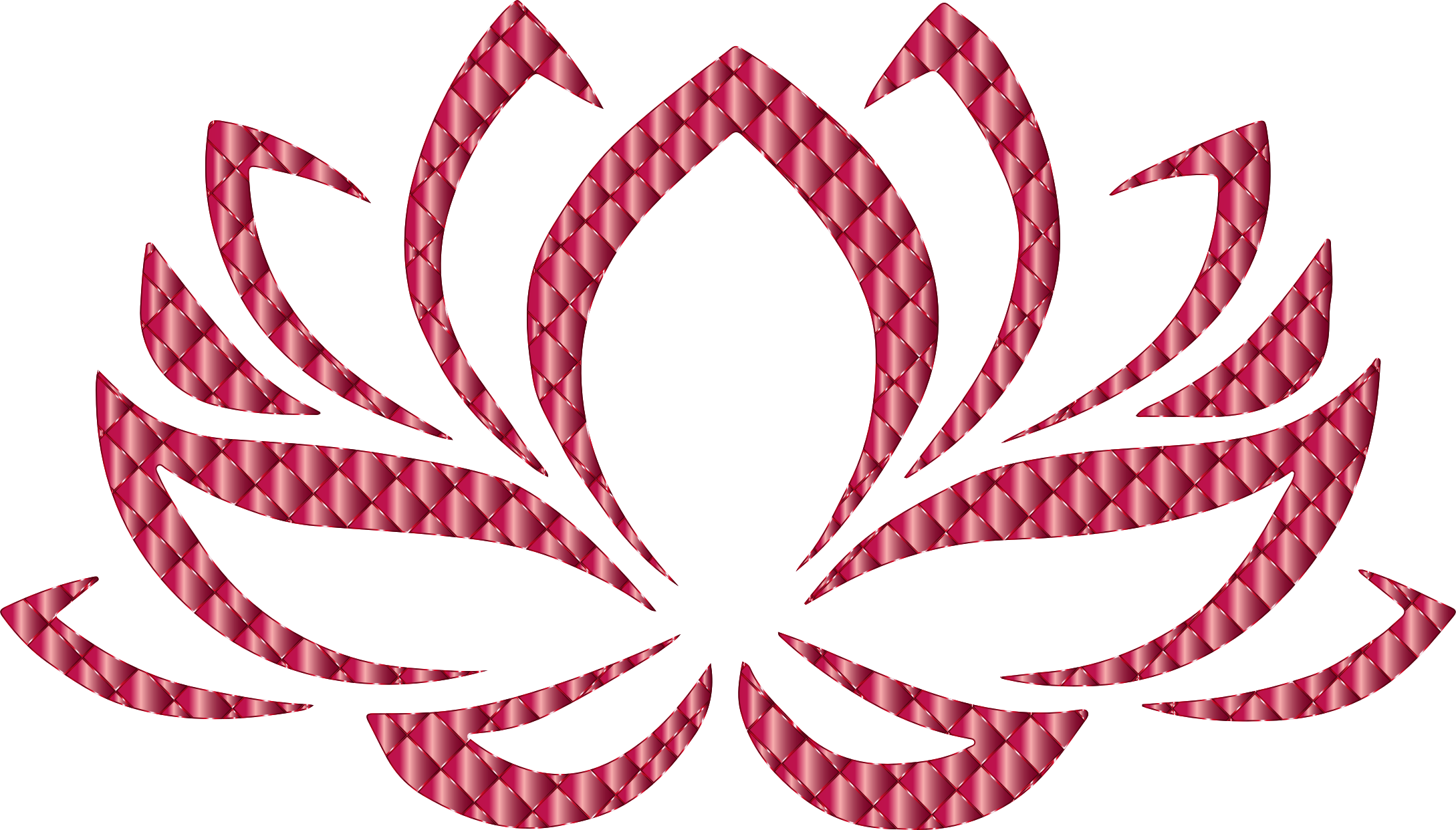 free download Lotus clipart abstract. Ruby flower no background.