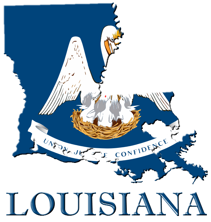 clip art Louisiana clipart. State of logo by