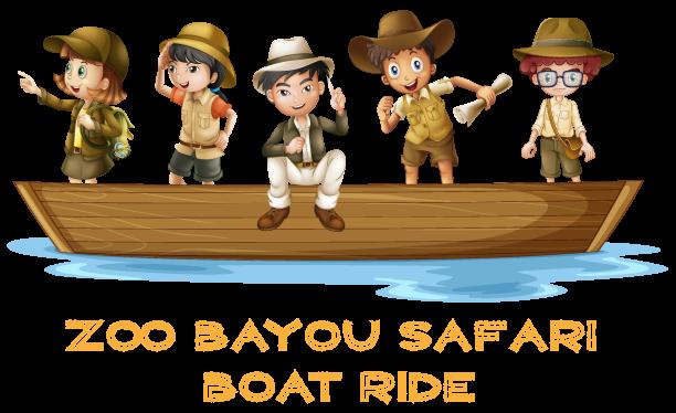 clipart black and white download Safari boat ride purchase. Louisiana clipart bayou clipart.